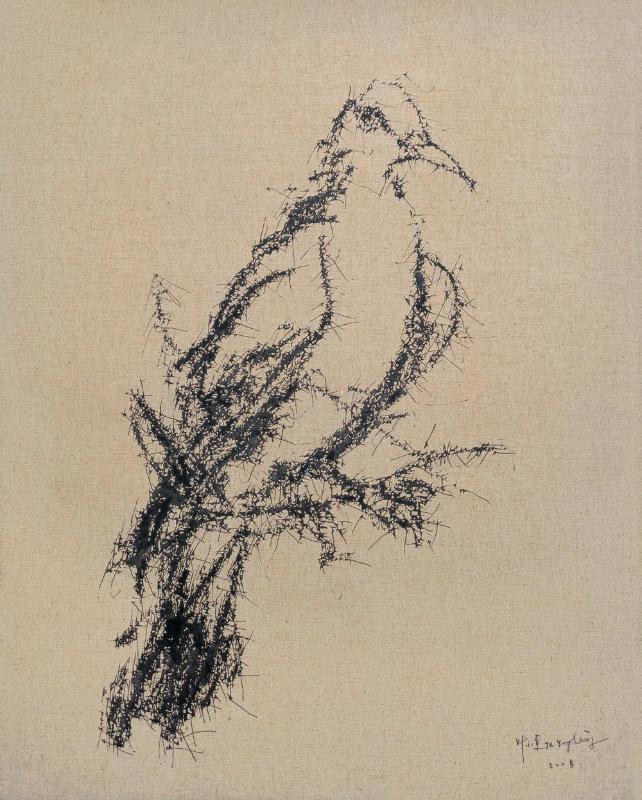 叶永青 鸟系列图片