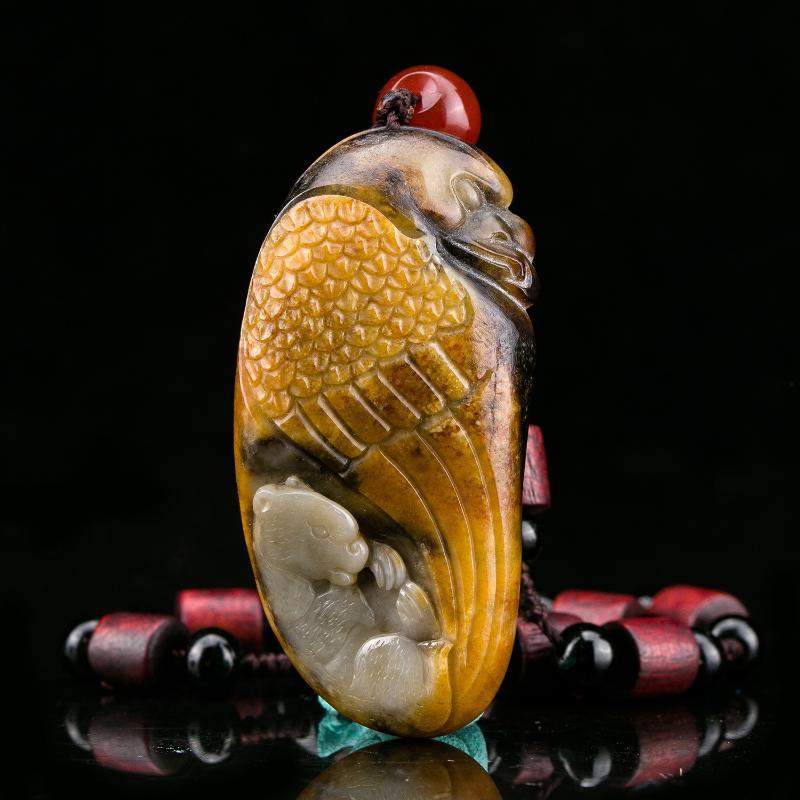 糖玉一念之间玉牌 落槌价 [ 2次出价] ¥ 2,800 162902 白玉观音牌