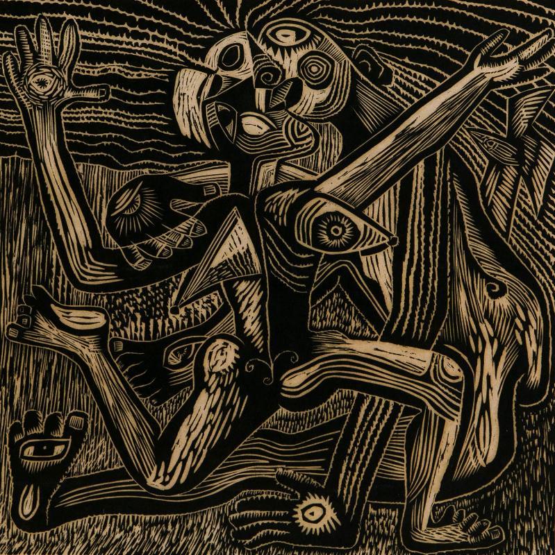 转型:1980-90年代木刻版画专场